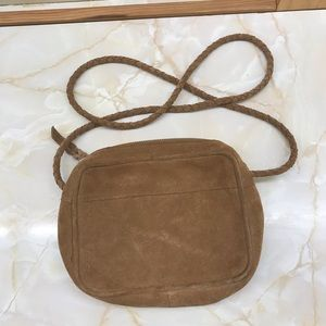 UrbanOutfitters Tan Suede Hobo Purse